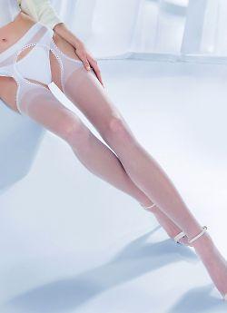 Свадебные чулки с поясом Gabriella Strip Panty Princessa 12