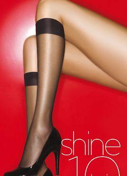 Aristoc Shine 10 Den Knee Highs 3PP GAH6