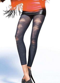 Модные леггинсы в стиле 'старые джинсы' Gatta Vintage