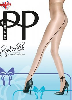 Pretty Polly Bow Backseam ATE5