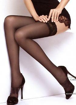 Чулки Innamore Flirt 40 - резинка шириной 8 см