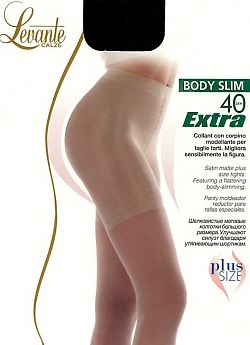 Колготки большого размера Levante Body Slim 40 Extra