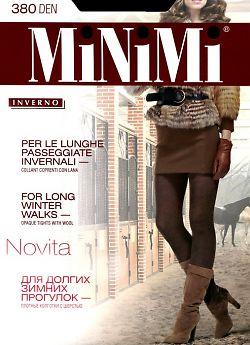 Теплые колготки с шерстью MiNiMi Novita