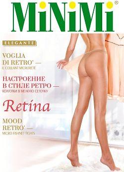 Колготки в сетку MiNiMi Retina Collant