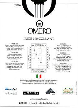 Колготки из микрофибры Omero Iride 100 Collant