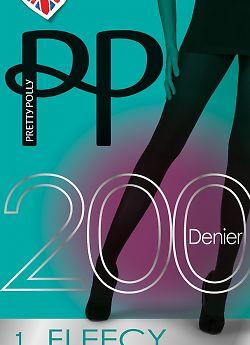 Pretty Polly 200 Denier Fleecy Tights