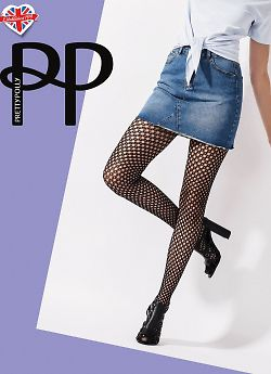 Pretty Polly Diamond Net Tights AVT8