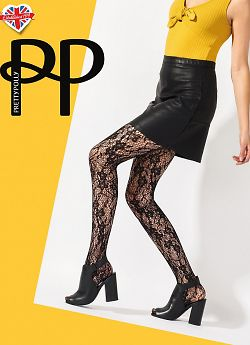 Pretty Polly Flowew Net Tights AVU2
