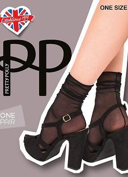 Носки Pretty Polly Fall Down Backseam Anklet AVX7