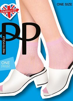Носки Pretty Polly Ladder Net Anklet AVX5