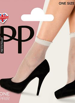 Носки Pretty Polly Sheer Spot Anklet AWK9