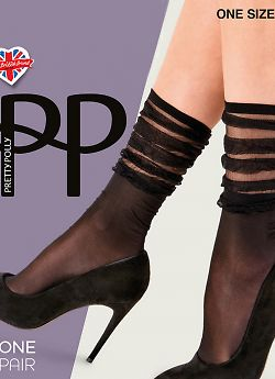 Гольфы Pretty Polly Stripe Fall Dawn Anklet AWL1