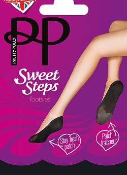 Pretty Polly Sweet Steps Footsie ATP3