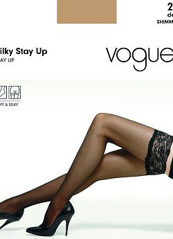 Vogue Silky Stay Up 20
