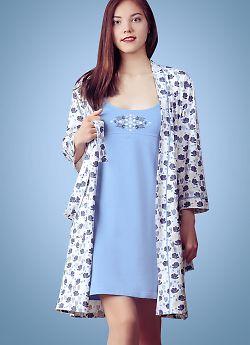 Женская сорочка Evelena 1010 Blackberry