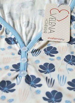 Женская пижама Evelena 1020 Blackberry