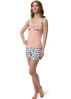 Женские пижамный комплект Evelena 1021 Blackberry