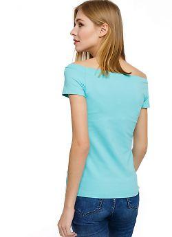 Стильная женская футболка Mark Formelle 112398