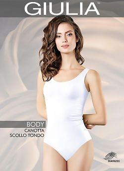 Женское боди Giulia Body Canotta Scollo Tondo