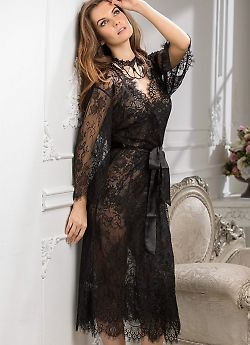 Кружевной халат Mia-Amore Chanell 2033