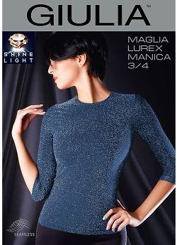 Giulia Maglia Lurex Manica 3/4
