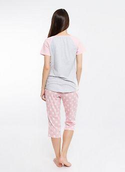 Комплект женский (футболка и бриджи)