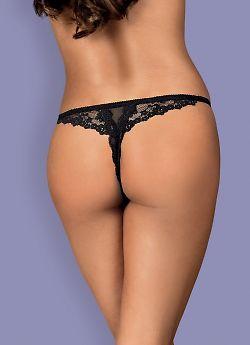 Трусики-стринг Obsessive Letica Thong Crotchless