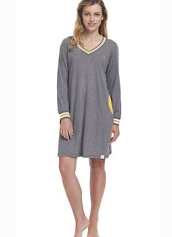 Женская сорочка Doctor Nap TM.9307 Grey Y