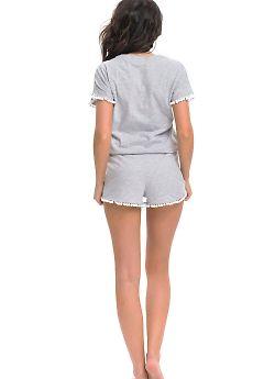 Пижама женская Doctor Nap PM.9249 Grey Melange