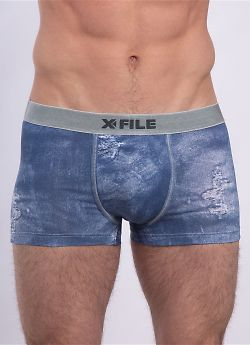 X-File Denim Boxer