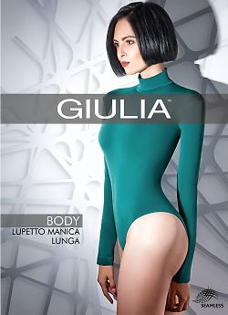 Женское боди Giulia Body Lupetto Manica Lunga