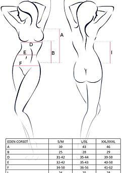 Avanua Eden corset