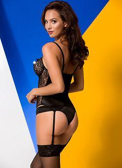 Avanua Maxime corset Black