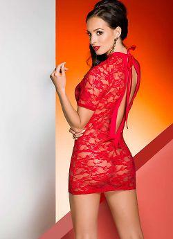 Avanua Rika chemise Red
