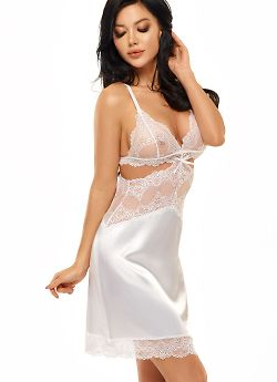 Beauty Night Adelaide chemise White