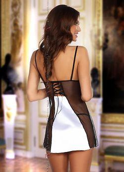 Beauty Night Michele chemise White