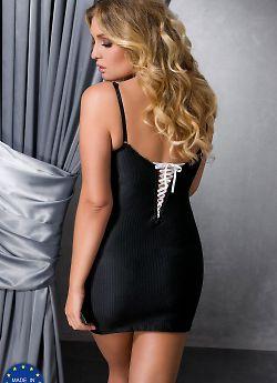 Passion Size Plus Camille chemise Black