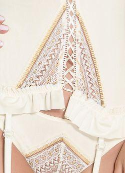 Casmir 04305 Connie corset Cream