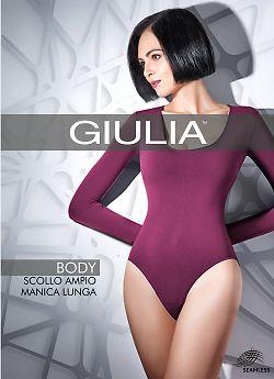 Женское боди Giulia Body Scollo Ampio Manica Lunga