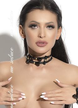 Me Seduce Chocker 03 Black