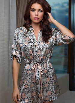 Женская рубашка из натурального шелка Mia-Mia Dior 15086