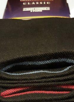 Цветные полоски для легкого поиска пары носков