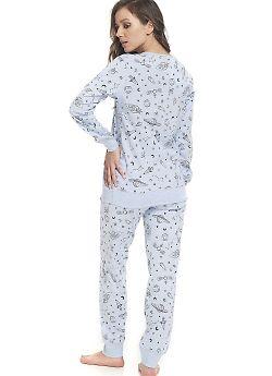 Пижама женская Doctor Nap PM.9308 Blue Grey