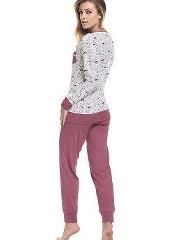 Пижама женская Doctor Nap PM.9325 Blueberry