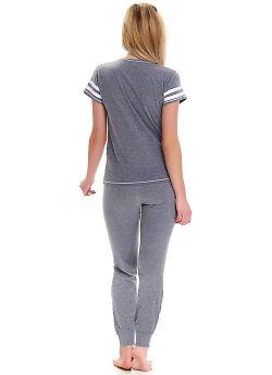 Пижама женская Doctor Nap PM.9488 Dark Grey