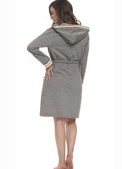 Халат женский Doctor Nap SMW.9342 Grey Y
