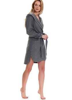 Халат женский Doctor Nap SMW.9356 Grey Melange