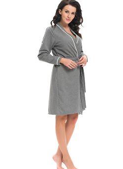 Халат женский Doctor Nap SWB.9105 Dark Grey