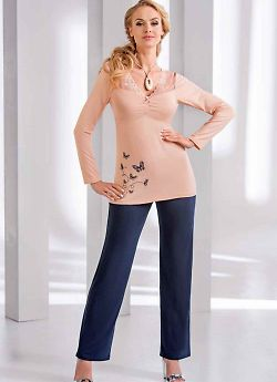 Donna Dorothy pyjamas Peach