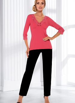 Donna Sandra pyjamas Coral